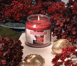 Sierra Valley  Pomegranate Candle