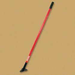 Bully Tools Single Prong Weeding Hoe Fiberglass Handle