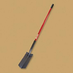 "Bully Tools 6"" Trench Shovel - Long Fiberglass Handle"