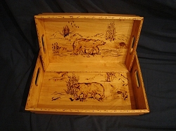 Sierra Valley Butlers Tray - Large