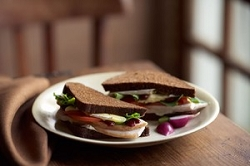 All Natural Turkey Sandwich---FREE RECIPE