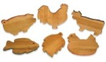 SIERRA VALLEY NOVELTY CUTTING BOARDS