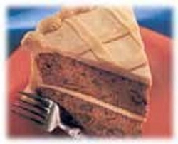 Banana Carrot Cake w/ Peanut Butter Cream Frosting---FREE RECIPE
