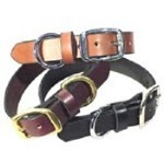 SIERRA VALLEY LEATHER DOG COLLARS