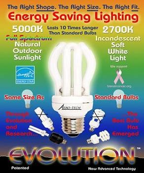EVOLUTION Compact Fluorescent Light Bulb