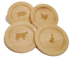 Sierra Valley Farm Animal Plates