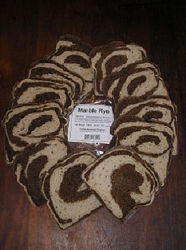 Truckee Sourdough Thick Sliced Marble Rye Loaf Free shipping