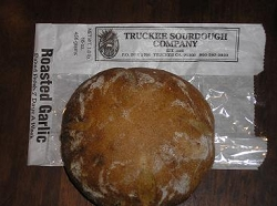 TRUCKEE SOURDOUGH ROASTED GARLIC ROUND FREE SHIPPING