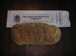 TRUCKEE SOURDOUGH CIABATTA LOAF FREE SHIPPING