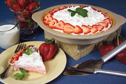 Sierra Valley Strawberry Cream No-Bake Cheesecake Mix