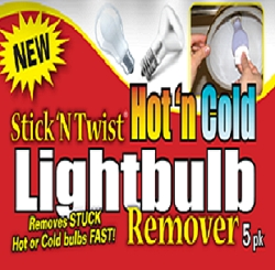 STICK N TWIST  LIGHTBULB REMOVER FREE WITH ANY PURCHASE