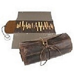 Sierra Valley Leather Carving Tool Roll