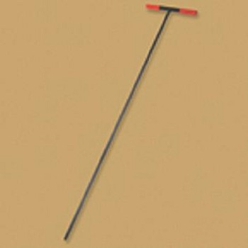 "Bully Tools 60"" Soil Probe Steel T-style Handle"
