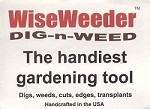 WiseWeeder™ Dig-n-Weed, The Handiest Gardening Tool