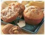 Banana Walnut Muffins---FREE RECIPE