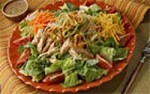 BBQ Smoked Chicken Tortilla Salad---FREE RECIPE