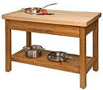 Sierra Valley Kitchen Island  Work Center FREE SHIPPING
