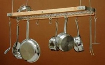 SIERRA VALLEY Oval Ceiling Bar Pot Rack PRC-02-N-
