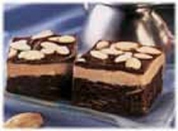 Almond Latte Fudge Brownies---FREE RECIPE