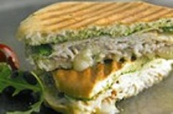North Beach Turkey Foccaccia Sandwich ---FREE RECIPE