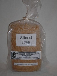 TRUCKEE SOURDOUGH SLICED RYE LOAF FREE SHIPPING