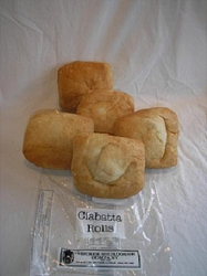 TRUCKEE SOURDOUGH CIABATTA ROLLS (5 PACK) FREE SHIPPING