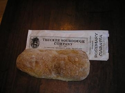 TRUCKEE SOURDOUGH ROSEMARY CIABATTA FREE SHIPPING