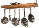 SIERRA VALLEY  Cherry Ceiling Pot Rack.
