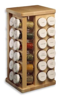 Sierra Valley Carousel Spice Racks